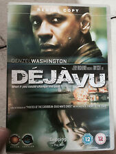 DENZEL WASHINGTON Déjà Vu 2006 Tony Scott Time Viaje SUSPENSE ~ GB DVD