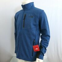 THE NORTH FACE Men's Full Zip Fleece Jacket Canyonlands Monster Blue Heather