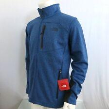 THE NORTH FACE Men's Full Zip Fleece Jacket Canyonlands Monster Blue Heather