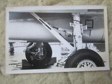 PHOTO GRUMMAN F-14 TOMCAT US NAVY VF-124 DETAIL TRAIN ATTERRISSAGE LE BOURGET 73