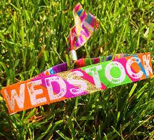 Wedstock Festival Wedding Wristbands