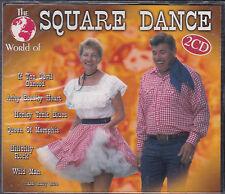 2 CD THE WORLD OF SQUARE DANCE 40T DE 1998 NEUF SCELLE