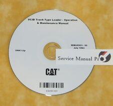 SEBU6503 Caterpillar 953B Track-Type Loader Operation Maintenance Manual CD