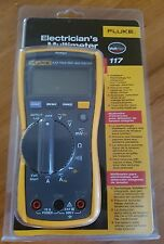 FLUKE 117/RS TRUE-RMS DIGITAL MULTIMETER. BRAND NEW WITH ALL THE ACCESSORIES