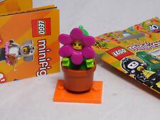Lego 71021 Minifiguren Serie 18 Party Blumentopf-Mädchen Flowerpot Girl #14 NEU
