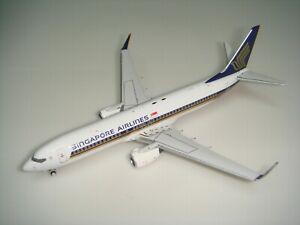 "Singapore Airlines SQ 737-800WL ""2007s color"" 1:400"
