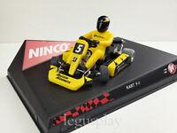 "Scx Scalextric Slot Ninco 50224 Kart F-1 Series "" Jaune "" Buzzin Hornets"