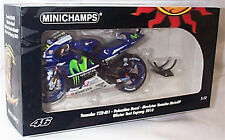 Yamaha YZR M1 V. Rossi Winter Test Sepang 2016 1-12 scale New Boxed Ltd ed