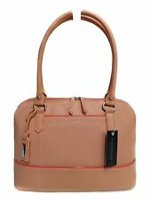 NWT Tignanello Bowery Dome Satchel Peach Leather T61310A, MSRP: $159.00