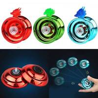 Aluminum Yoyo Yo Yo Coloured Clutch Mechanism Tricks Kids Toy Speed Ball Return