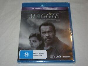 Maggie - Arnold Schwarzenegger - Brand New & Sealed - Region B - Blu Ray