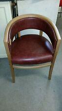Faux Leather Vintage/Retro Armchairs