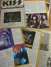 Kiss, Six Page Vintage Clipping