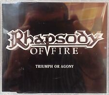 Rhapsody Of Fire - Triumph Of Agony (SPV/ Steamhammer Promo Metal CD) (CD 2006)