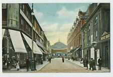 Curzon Street Oldham Lancashire Vintage Postcard B3