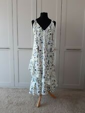 H&M womens dress size 12 - white with floral print, Christening, wedding