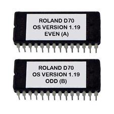 ROLAND D-70 - OS UPGRADE 1.19 PLEASE READ DESCRIPTION