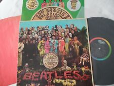 BEATLES Original 1967__MONO__Sgt. Peppers Lonely Hearts LP__INSERT