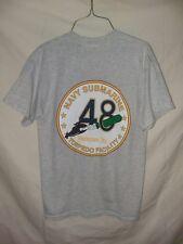 "Navy Submarine ""48"" Torpedo Facility Yorktown VA Gray Size M T-Shirt"