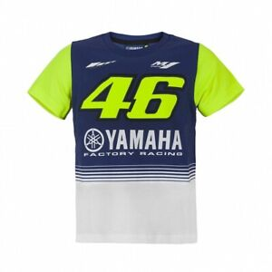 NEW Rossi Moto GP YAMAHA 46 Childrens KIDS Boys Junior T Shirt OFFICIAL