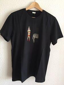 Paul Smith T-shirt Size Small Black Zebra BNWT