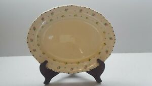 Ridgways Hand Painted Bedford ware Floral Serving Platter