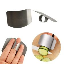 Finger Guard Protector Hand Kitchen Tools Stainless Steel Chop Safe Slice Knife