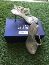 Stuart Weitzman Melissa Jelly Shoes Heels Designer Bond Street Size 6 39 5.5