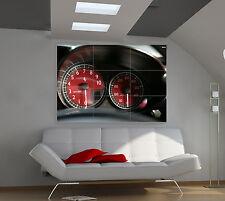 "Ferrari Enzo Speedometer Huge Art Giant Poster Wall Print 39""x57"" px81"