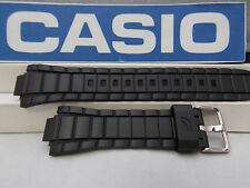 Casio Watch Band EFR-519 Black Resin Strap / Watchband Edifice