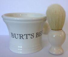 Burt's Bees Classic Ceramic Shave Mug and Brush