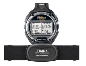 TIMEX Ironman Triathlon GPS Running/Cycling HRM Watch with Bike Mount NEW
