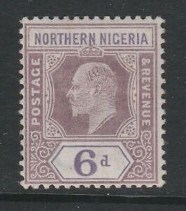 Northern Nigeria 1902 6d Dull purple & violet SG 15 Mint.