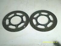 YAMAHA FJR 1300A 2008 FRONT DISC BRAKE ROTORS