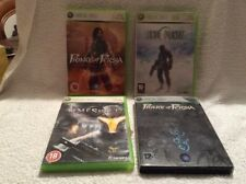 4 X XBOX 360 GAMES - PRINCE OF PERSIA - LOST PLANET - TIMESHIFT - PREOWNED