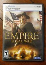 Empire: Total War (PC, 2009) Complete - *Read Description*