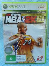 NBA 2K10 TENTH ANNIVERSARY EDITION(X BOX 360 LIVE PAL 4) G