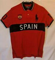 Polo Ralph Lauren 2011 Spain Big Pony Polo Shirt Men's Size XL New