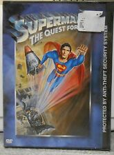 Superman IV: The Quest for Peace (DVD, 2001) RARE BRAND NEW
