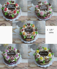 Pretty Miniature Food  -  Cakes   - SALE -   Price Reduced