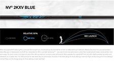 "BRAND NEW ONLY ALDILA 2KXV BLUE NV 70 X DRIVER SHAFT .335 46"" UNCUT EXTRA STIFF"