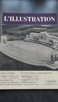 Magazine Illustrated Weekly L'Illustration No 4990 Monument a La Glory 1938