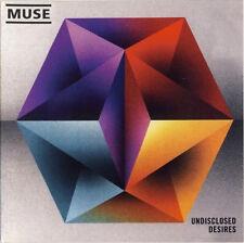 MUSE Undisclosed Desires CD, Maxi-Single