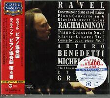 ARTURO BENEDETTI MICHELANGELI -RAVEL & RACHMANINOV: CONCERTO -JAPAN CD C68