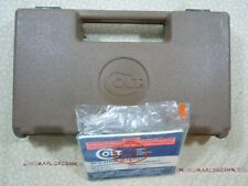 Colt 1911 Factory Brown Hard Case With Manual.