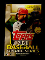 Topps 2020 Baseball Update Series Blaster Box 7 Packs+Coin Card Mike Trout?? #MT