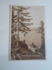 VANCOUVER ISLAND, B.C. On the Malahat Drive RPPC Franked+Stamped  1919    §A2423
