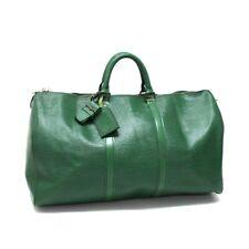 LOUIS VUITTON M42964 Epi Travel Keepall50 Hand Bag Duffle Bag Epi Leather Green
