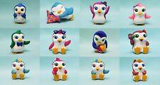 DeAgostini Magiki Pinguine komplett Set alle 12 Figuren + Mini Poster  Neu