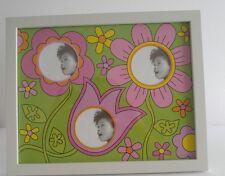 Elsa L. Inc., Girl's Wall Desk Flower Collage Photo Frame.